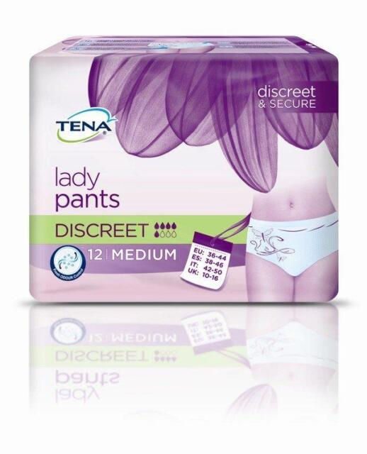 TENA Lady Pants Discreet M 12St PZN: 10186804