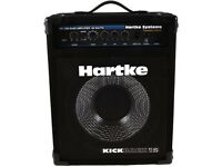 Cheap: Hartke hs 1200 bass amp 120 watt kickback 15