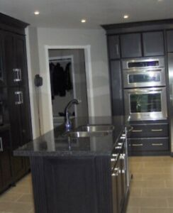 Kitchen Island for sale with sink and granite top