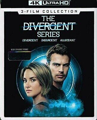 The Divergent Series: 3-Film Collection (4K Ultra HD Blu-ray, 2019) comprar usado  Enviando para Brazil