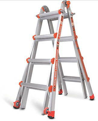17 1a Little Giant Ladder Classic W Work Platform 10102lgw The Original New