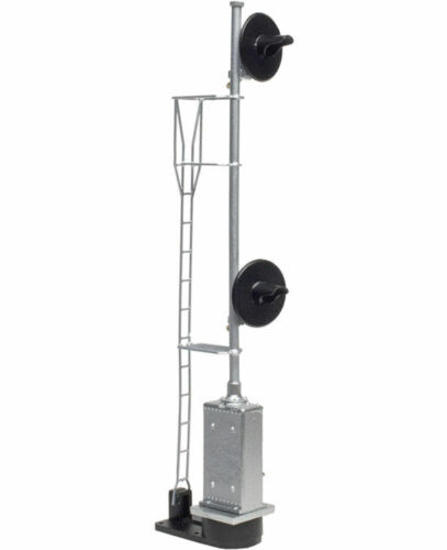 Atlas HO Scale ~ Searchlight Double Head US&S Cabinet UP Style LED ~ 70000087