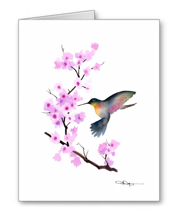 CHERRY BLOSSOM Note Cards With Envelopes