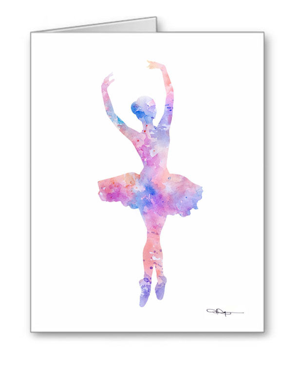 BALLET Note Cards With Envelopes