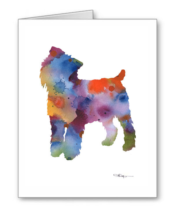 BRUSSELS GRIFFON Note Cards With Envelopes