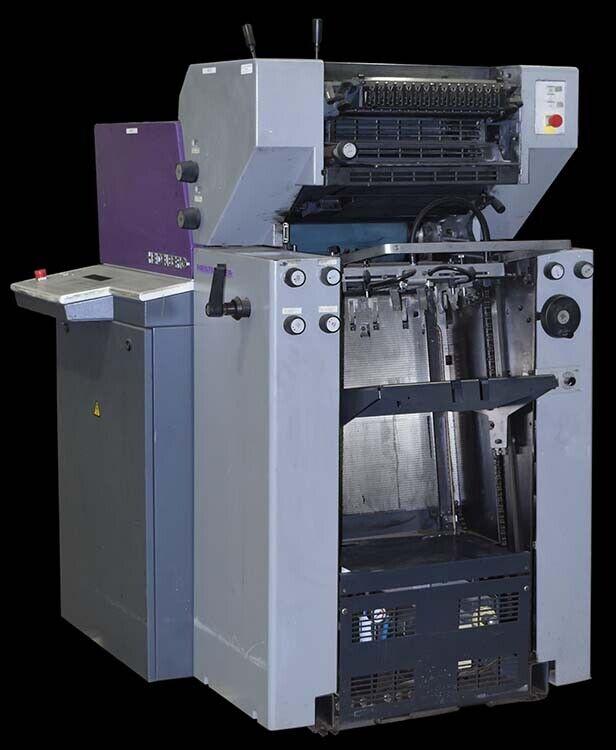 Heidelberg QM-46 Printmaster Industrial 2-Color Offset Printing Press AS-IS
