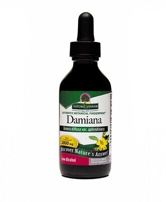 Damiana Leaf Extract Nature's Answer 2 oz Liquid Damiana Leaf Extract Liquid