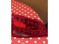 Audi A4 S Line passenger side Inner Boot Tail Light LED B8 2008-2012