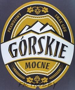Poland Brewery Jędrzejów Piwo Górskie Beer Label Bieretikett Cerveza je70.2 - <span itemprop=availableAtOrFrom>Podlaskie, Polska</span> - Poland Brewery Jędrzejów Piwo Górskie Beer Label Bieretikett Cerveza je70.2 - Podlaskie, Polska