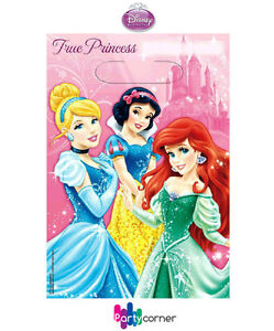 DISNEY-PRINCESS-PARTY-SUPPLIES-FAVOURS-LOOT-BAGS-PACK-OF-8