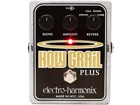 Holy Grail Plus Reverb Pedal with Power Lead