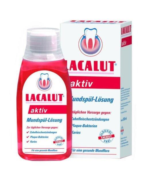 Lacalut aktiv Mundspül-Lösung 300ml PZN: 4970310