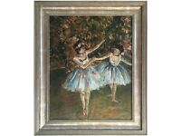 Original Oil Painting titled 'Ballet Dancers' by Michelle Ansor