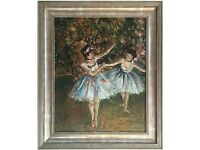 Ballet Dancers by Michelle Ansor (Original Oil Painting)