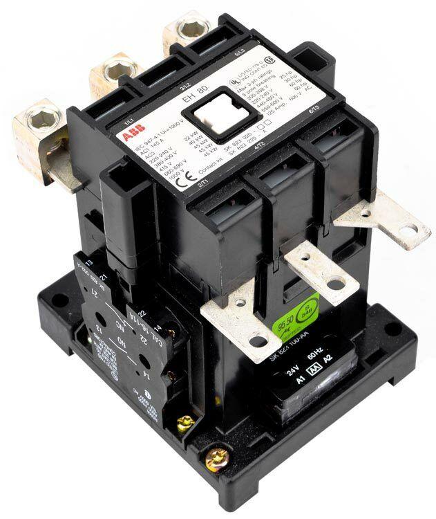 ABB Control EH80 EH80C-*L Industrial 3-Pole145A Contactor Unit