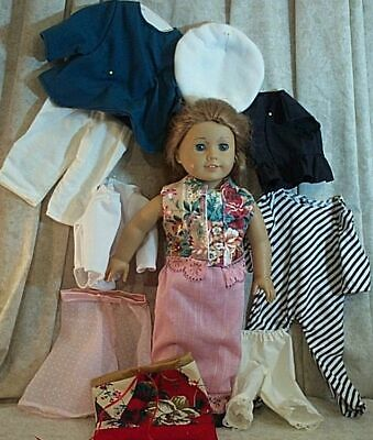 "Doll Clothes Made2Fit American Girl 18"" inch Lot 11 pcs Leotard Jumpsuit Jacket"