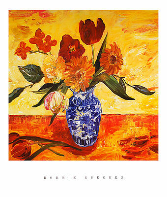Bobbie Burgers Sunlight II Poster Kunstdruck Bild 80x68cm