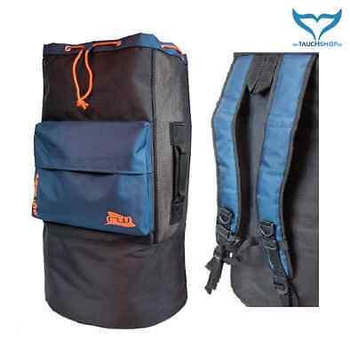 stabiler Rucksack 90L Tauchrucksack Netztasche Netzrucksack Tasche Beach Bag ABC