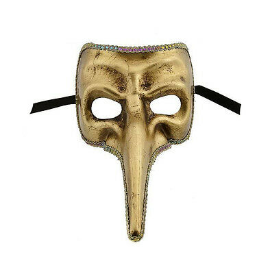 Mask from Venice Nasone Golden Civet Authentic Carnival 70