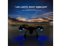 JXD 510G 5.8G FPV HD camera headless mode one key return flips leds 6-axis RC Drone