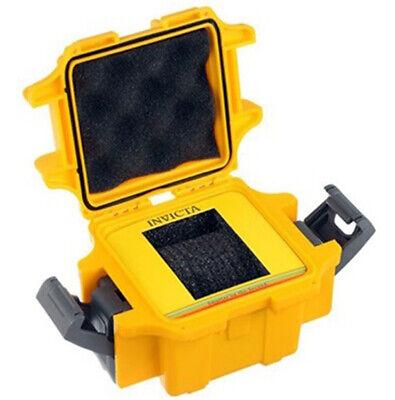 Invicta One-Slot Yellow Durable Plastic Watch Case DC1YEL