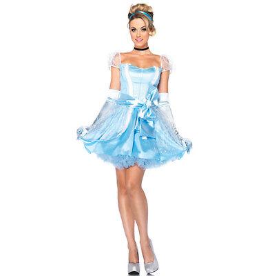 Top Totty Glass Slipper Cinderella Costume (Cinderella Glass Slippers For Women)