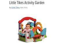 Baby activity garden