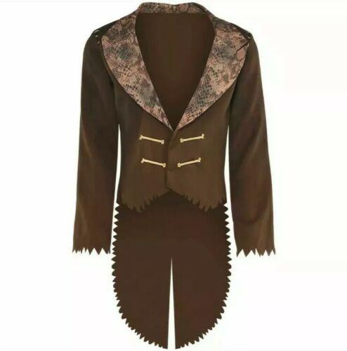 Witch Doctor Jacket Costume & Jewelry Set Adult Standard Siz