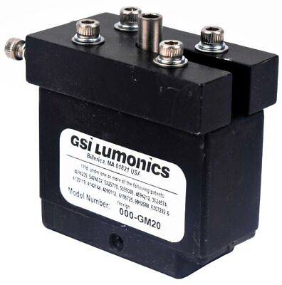 Gsi Lumonics 000-gm20 Mirror Laser Scanner System Print Shutter Component