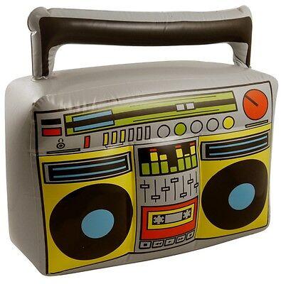 Party Kostüm Musik Hip Hop Retro 80ER JAHRE (80er Jahre Boombox)