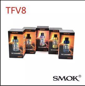 Genuine Smok TFV8 Tank - New Blue & Gold Only