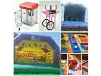 Party hire bouncy castle and more