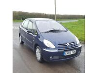 Citroen Xsara Picasso 1.8 Exclusive Petrol *One owner from new* 76,000 miles