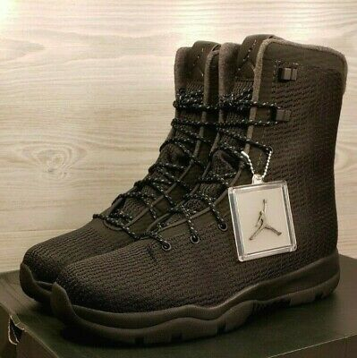 Nike Air Jordan Future Boot Black Dark Grey Waterproof 854554-002 Pick -