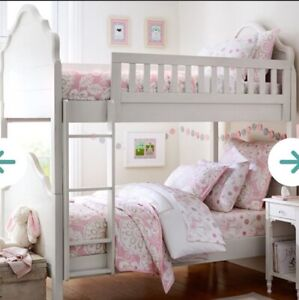 Pottery Barn - twin over twin bunk bed