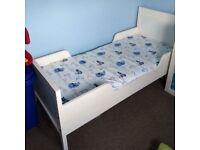 Ikea kid's bed (White)