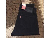 Levi's black 510 jeans skinny slim fit