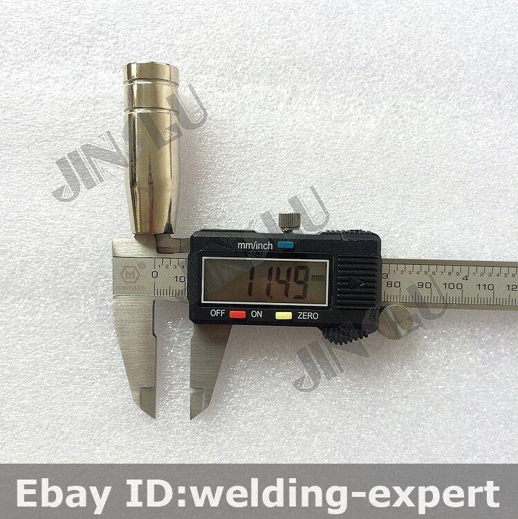 Contact Tip 50PK 0.9mm M6x25mm ERGOPLUS BW MB15 15AK 15AK MIG-200 Mig Gun