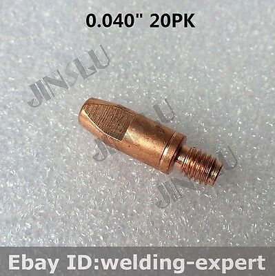 Contact Tip 1.0 Mm 0.040 20pk Eastwood Mp250i Multi-process 250 Amp Welder