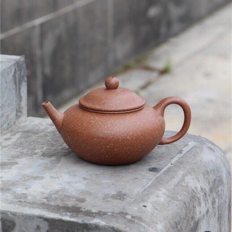 200cc Authentic Chinese Yixing Zisha Clay Handmade Wucai Duan Ni Teapot