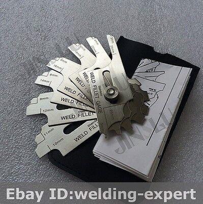 Metric Mg-11 Welding Gage Fillet Gauge 7pcs