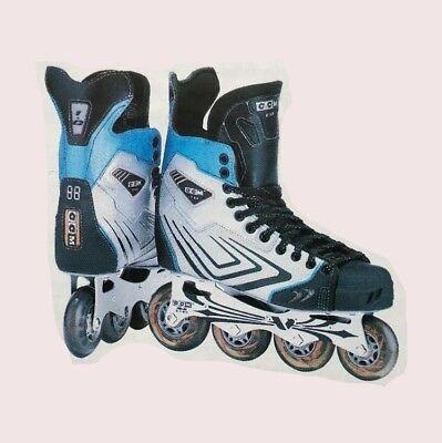 0ed46a9f68b New CCM Vector 1.0 Senior Hockey Inline Roller blade size 12D rollerblade  mens