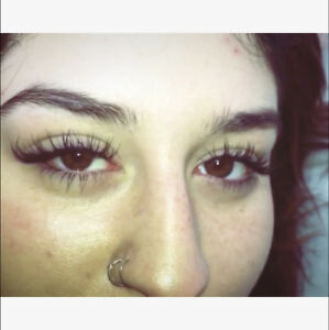 Eyelash extension promo - 20% off for new clients