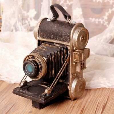 Vintage Resin Old Camera Model Display Desktop Figurine Decorative Antique