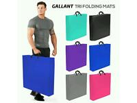 Brand new Gallant Tri Folding Mat 5CM Thick Foam Yoga Exercise Gym Floor 180cm X 60cm Mat