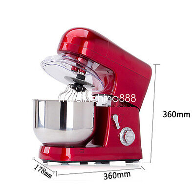 Kitchen Aid 6-speed 5L Metallic Red Professional Stand Mixer 1200W DHL Fast
