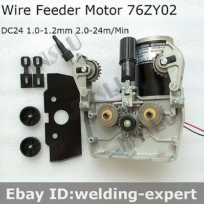 Mig Mag Welding Wire Feed Welder Motor 24v 1.0-1.2mm 76zy02