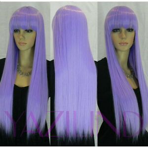 lilac-purple-lovely-cosplay-party-bangs-fringe-long-hair-full-synthetic-wig-s2