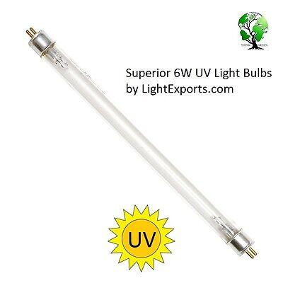 G6t5 |6-watt Uv| Bulb Bi-pin Base - 9 For Ionic Breeze Gp Desktop Air By Lse
