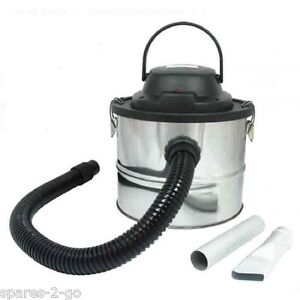 RL095 15 Ltr BBQ Fire Wood Coal Ash Can Debris Collector VACUUM CLEANER
